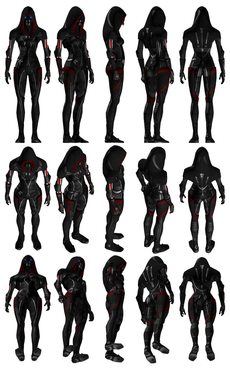 Mass Effect 3, MP N7 Fury Adept Ref. by Troodon80