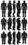 Mass Effect 3, MP N7 Paladin Sentinel Ref.