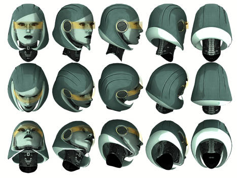 Mass Effect 3, EDI Head Reference.
