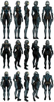 Mass Effect 3, EDI AA Pack 1 Reference
