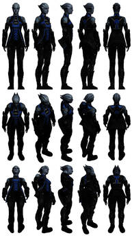 Mass Effect 3, Liara AA Pack 1 Reference.