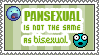 Pansexual Stamp by LadyGloomy