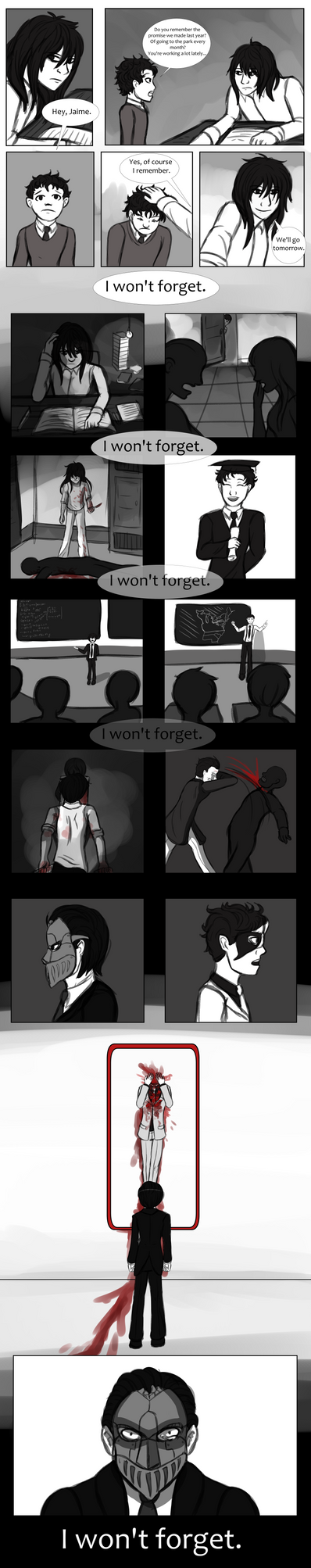 GD: I Won't Forget by Zeirt
