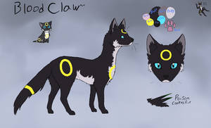 A ref sheet for BloodClaw