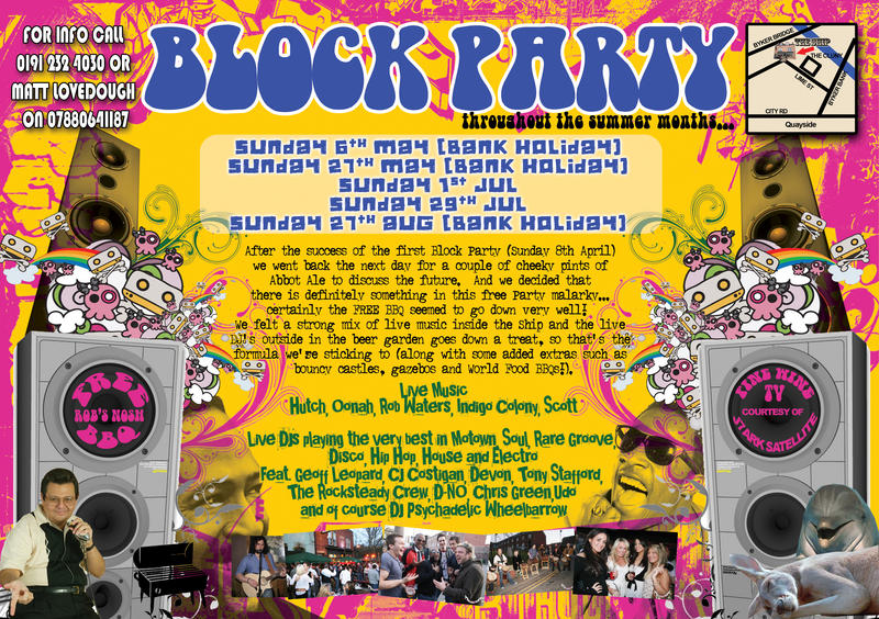 block party flyer by andmcg on DeviantArt