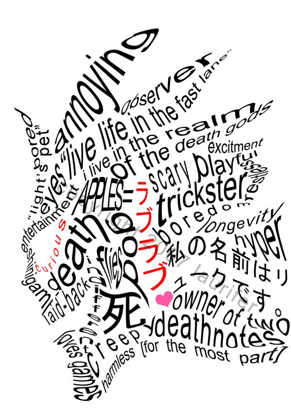 Death Note: Ryuk wordplay by laurifer