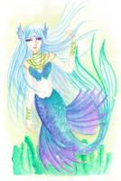 Soft Mermaid by Nekoblast