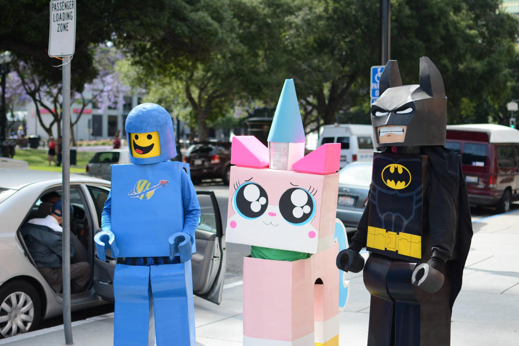 Lego Movie Cosplay by Janan326