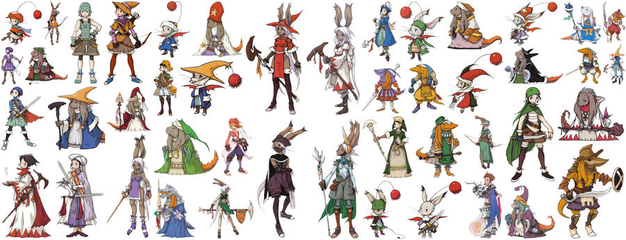 Final Fantasy Tactics A. Jobs by toxicsquall on DeviantArt