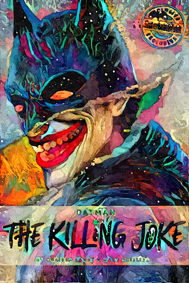 The Killing Joke Joker Batman by toxicsquall