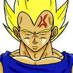 Vegeta Is Not Amused by TheInfamousKee