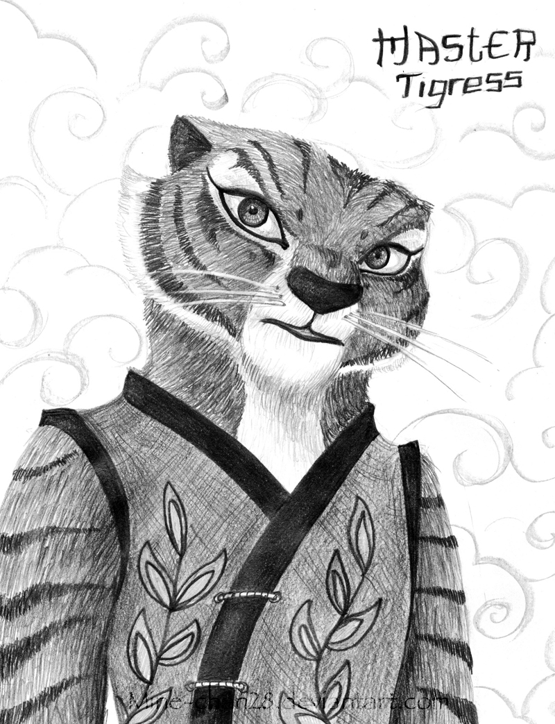 Sassy Tigress by MaxiMasMac on DeviantArt