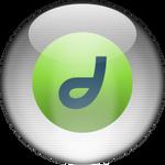 Silver Aqua Dreamweaver Icon