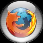 Silver Aqua Firefox Icon
