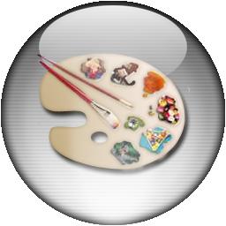 Silver Aqua Paintshop Pro Icon By Rontz On Deviantart