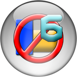 Silver Aqua Ad-Aware 6 Icon