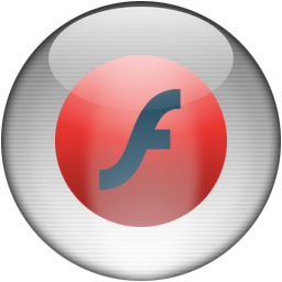 Silver Aqua Flash MX Icon