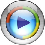 Silver Aqua MediaPlayer10 Icon
