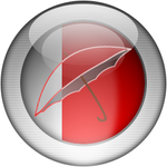 Silver Aqua AntiVir Icon
