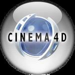 Silver Aqua Cinema 4D Icon