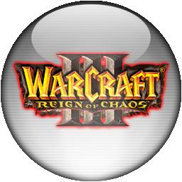 Silver Aqua Warcraft 3 Icon