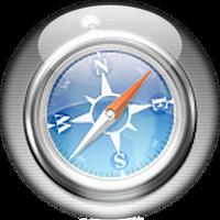 Silver Aqua Safari Icon by rontz