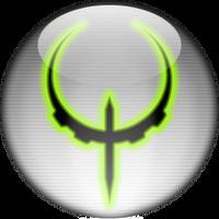 Silver Aqua Quake 4 Icon by rontz