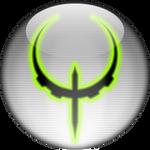 Silver Aqua Quake 4 Icon
