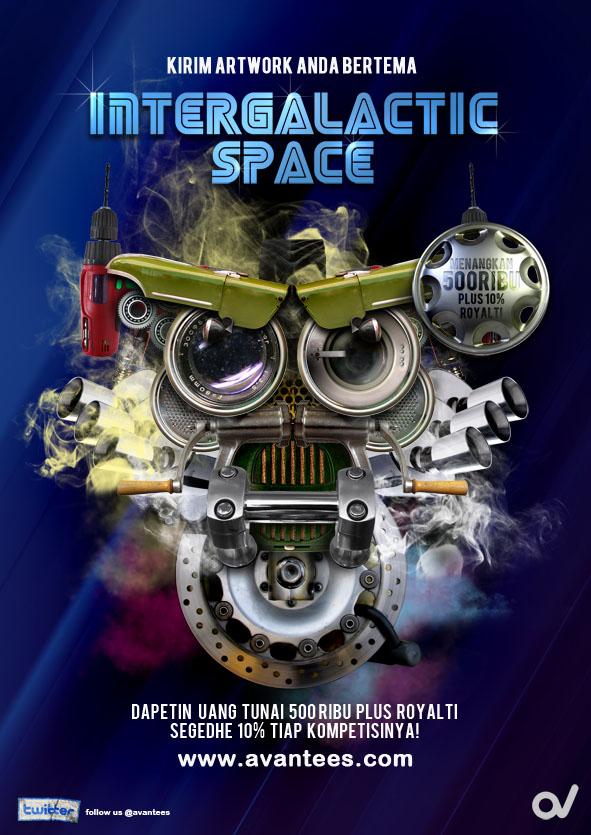 INTERGALACTICAL SPACE by sancokbrancok