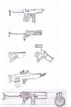 Gun sketches 1
