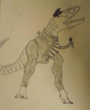 Jailhouse Rockasaurus