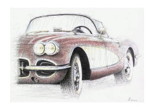 Born to be fast - Corvette C1