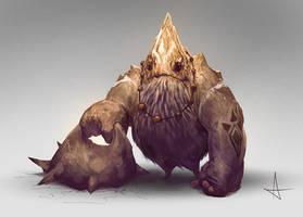 Goron - The Legend of Zelda by anderslarsson-art