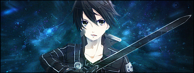 Kazuto Kirigaya (Kirito) ~ SAO Signature ver. #1 by Ephayris