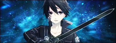 Kazuto Kirigaya (Kirito) - SAO Signature ver. #4 by Ephayris