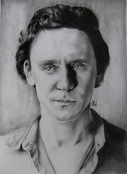 Tom Hiddleston by ArinaReznikova