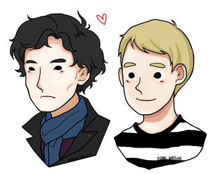 JohnLock (BBC ver.) by bluehippopo