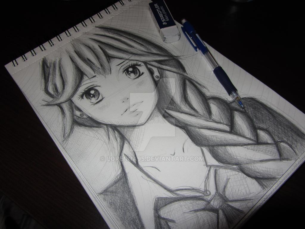 Shoujo fanart by Lorenna95
