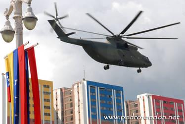 Helicoptero MI-26 Venezuela by pedrorondon
