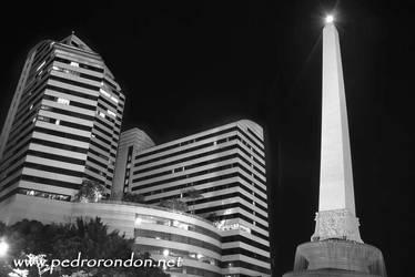 Altamira de noche