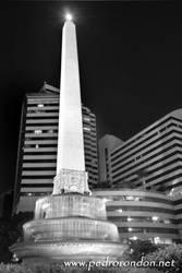 Altamira de noche 5 - HDR - BN