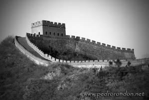 la Gran Muralla BN by pedrorondon