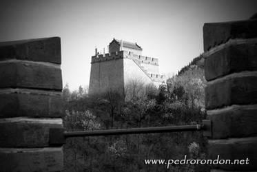 la Gran Muralla 4 - BN by pedrorondon