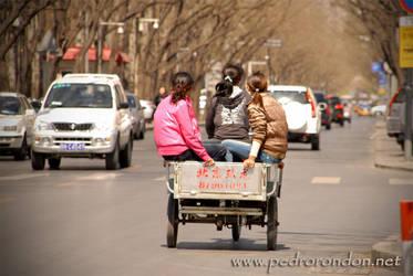 Calles de Beijing 4 by pedrorondon