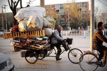 Calles de Beijing 5 by pedrorondon