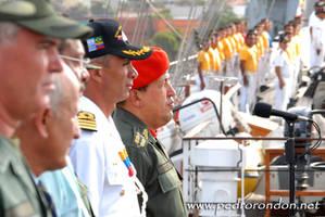 Hugo Chavez en el B.E.S.B. 1
