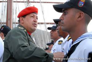 Hugo Chavez en el B.E.S.B. 2
