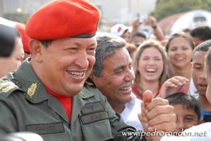 Hugo Chavez en el B.E.S.B. 3