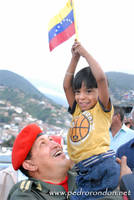 Hugo Chavez en el B.E.S.B. 5 by pedrorondon