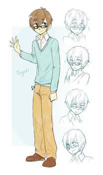 Tageki Ref Sheet .:By Shazy:.